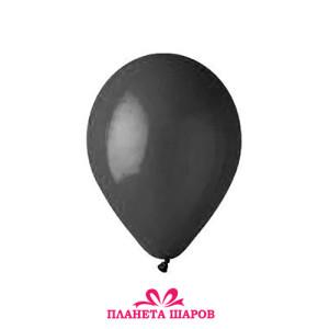 Воздушный шар 10 дюймов №14 «Пастель Черный»