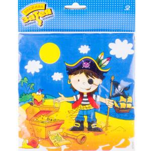 Набор бумажных салфеток «Маленький пират»