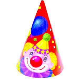 Карнавальный колпак «Клоун с шарами»