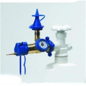 Газовое оборудование с клапаном и манометром