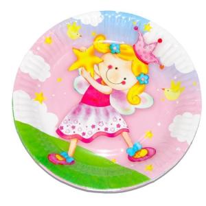 Набор бумажных тарелок «Звездная фея»
