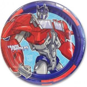 Набор бумажных тарелок «Трансформеры»