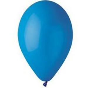Воздушный шар 10 дюймов №10 «Пастель Синий»