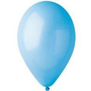 Воздушный шар 10 дюймов №09 «Пастель Голубой»