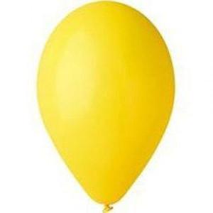 Воздушный шар 10 дюймов №02 «Пастель Желтый»