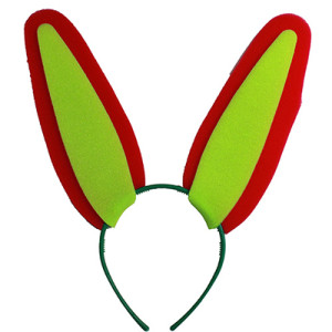 Карнавальный ободок «Уши зайки»