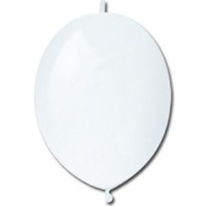Шар воздушный без рисунка 13 дюймов №01 Линколун «Пастель Белый»