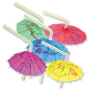 Трубочка для коктейля «Зонтик»