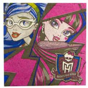 Набор бумажных салфеток «Monster High»