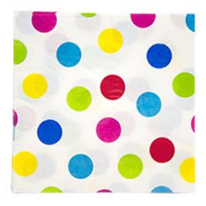 Набор бумажных салфеток «Горошек Мульти»