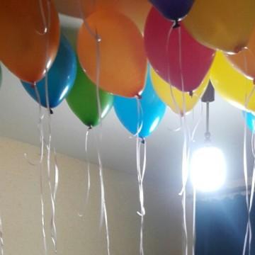 25 гелиевых шариков Ванечке от «Планеты шаров»