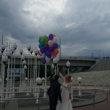 Наши свадебные воздушные шары!!!