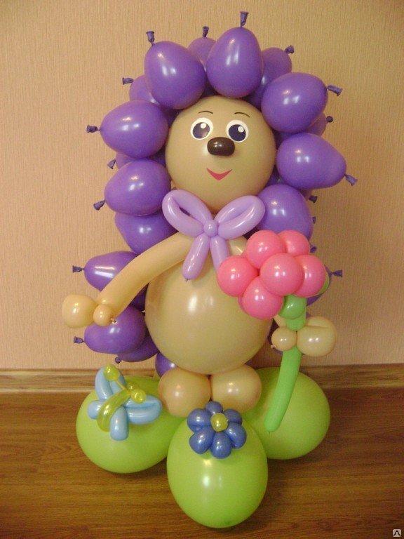Как из шаров воздушных сделать фигуры