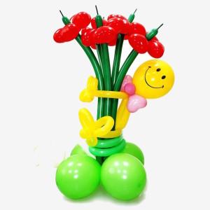 Композиция из воздушных шаров «Букет»
