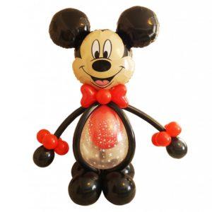 Композиция из воздушных шаров «Микки Маус»