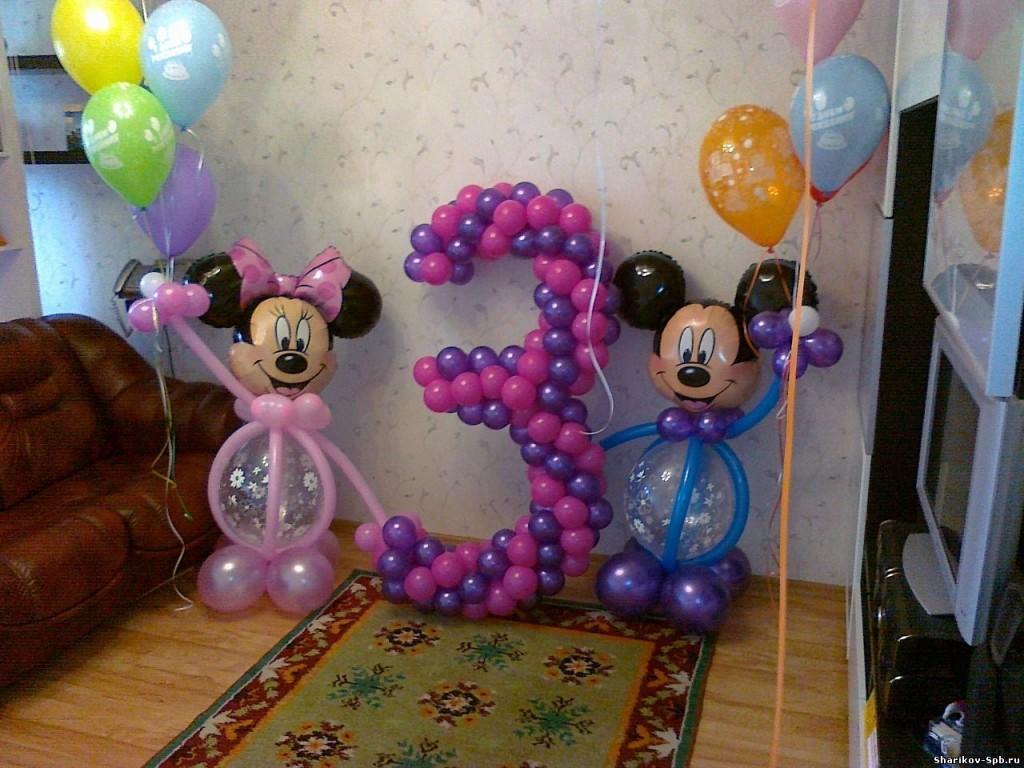 Фигуры из шаров на день рождения ребенка
