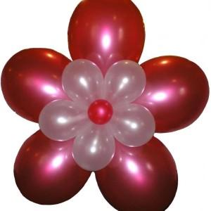 Гирлянда из воздушных шаров «Ромашка»