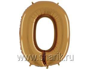 ЦИФРА 0 40″ Gold