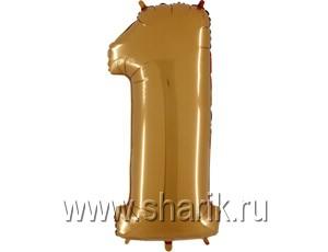 ЦИФРА 1 40″ Gold
