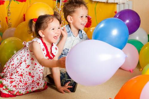 Конкурс с мячиком на день рождения
